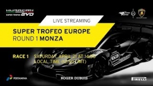 Lamborghini Super Trofeo Europe 2018, этап 1, гонка 1