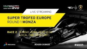 Lamborghini Super Trofeo Europe 2018, этап 1, гонка 2